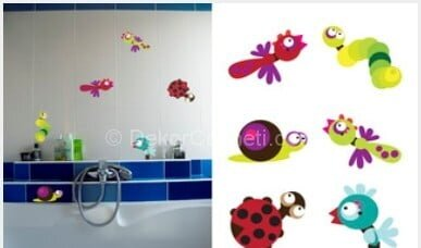 2014 banyo sticker gittigidiyor Fotoğrafları