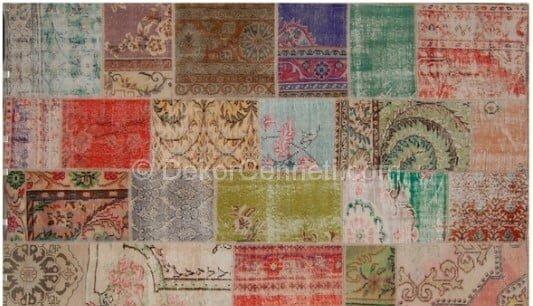2014 dinarsu patchwork halı 9004 renkli Galerisi