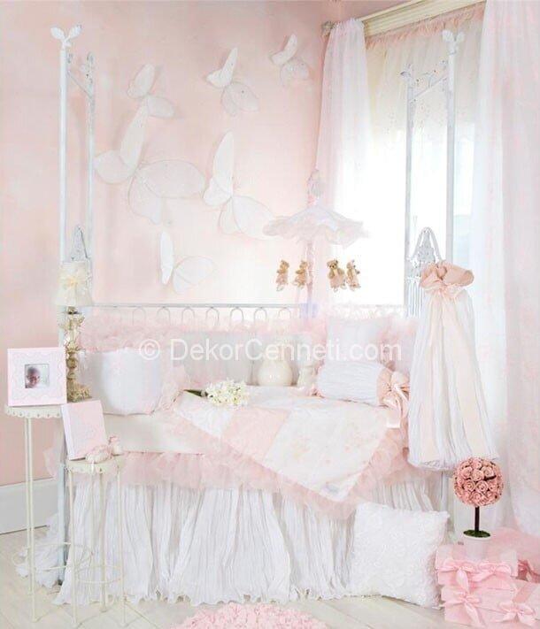2014 kız çocuk odası perdesi Modelleri