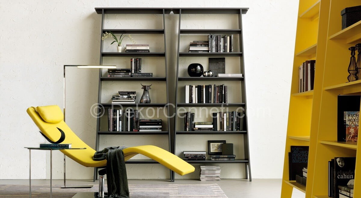 2014 modern kitaplık modelleri