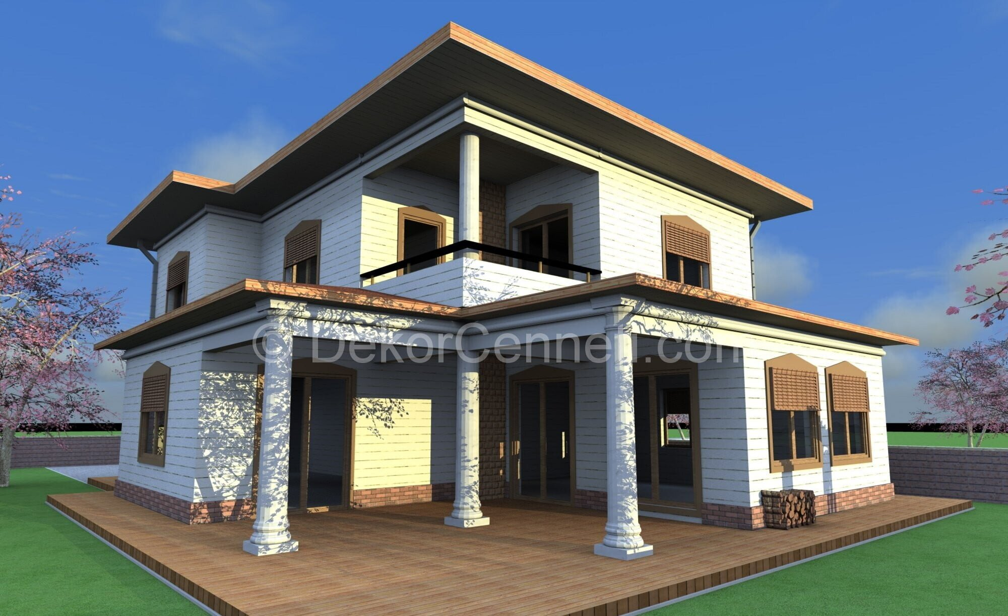 2014 villa iç mimari dekorasyon Fotoğrafları