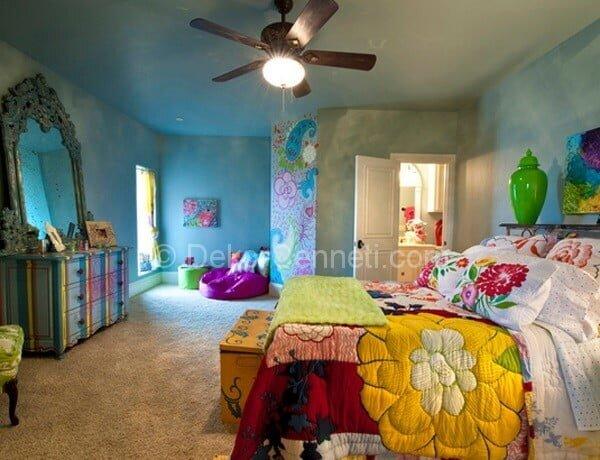 2014 yatak odası dekorasyon fikirleri
