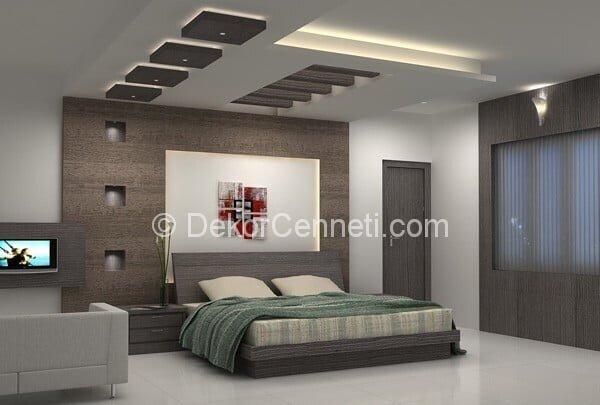 2014 yatak odası asma tavan modelleri 2013 Galerisi
