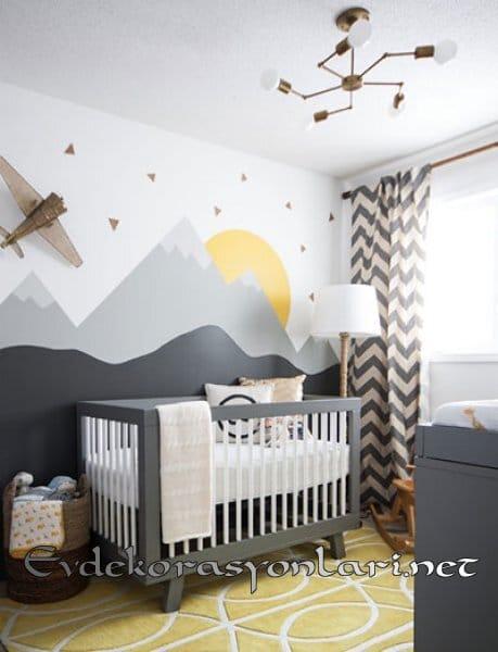 2018 En İdeal Bebek Odası Dekorasyon Modelleri