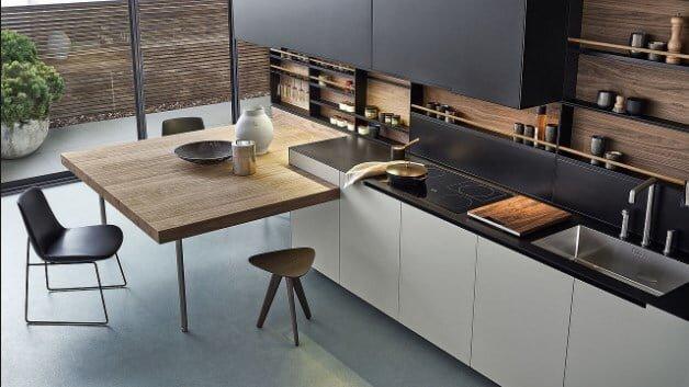 2018 modern mutfak dekorasyon fikirleri