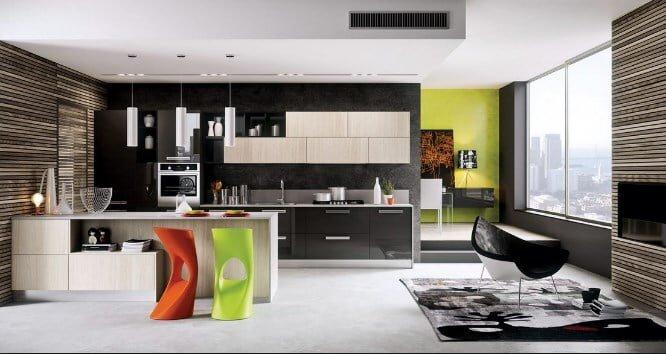 2018 trend mutfak dekorasyon fikirleri