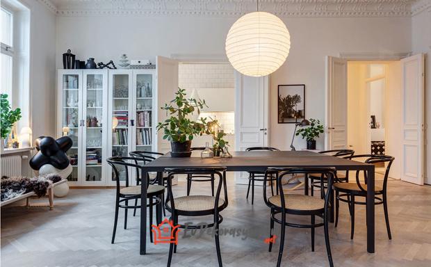 2018 yemek odasi dekorasyonlari