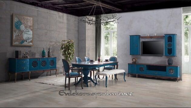 2018 yemek odasi mobilya modelleri