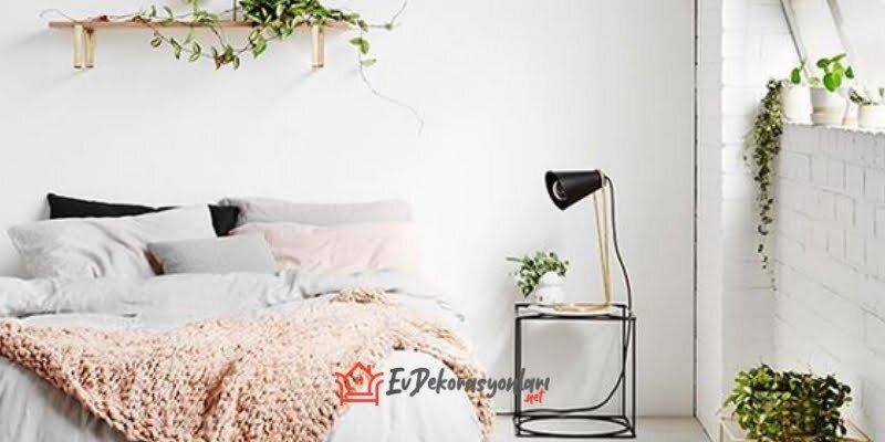 2020 beyaz yatak odasi dekorasyon modelleri
