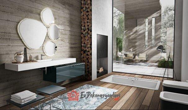 2019 İtalyan banyo dolap modelleri