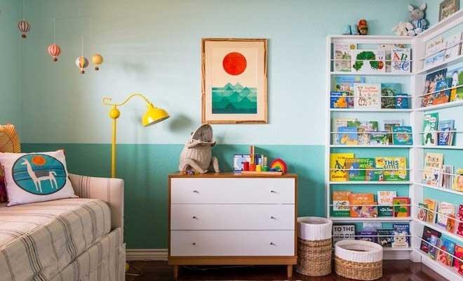 2019 Renkli Ve Eğlenceli Erkek Çocuk Odası Dekorasyonları