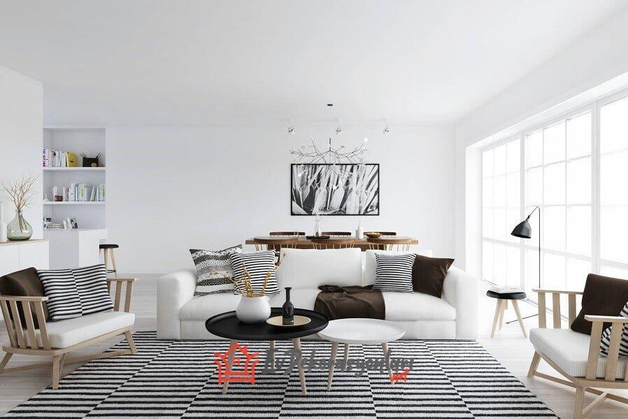 2019 iskandinav stili ev dekorasyon modelleri