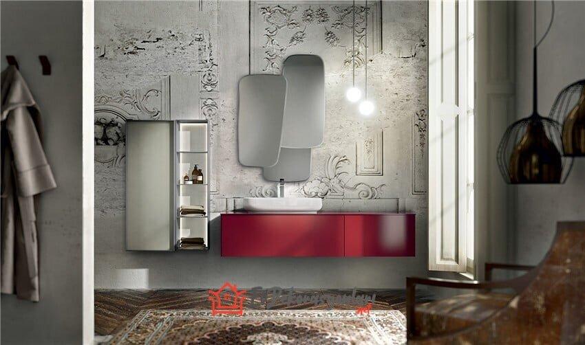 2019 italyan banyo dolap modelleri