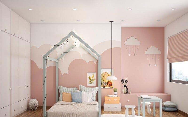 2019 kiz cocuk odasi dekorasyon modelleri