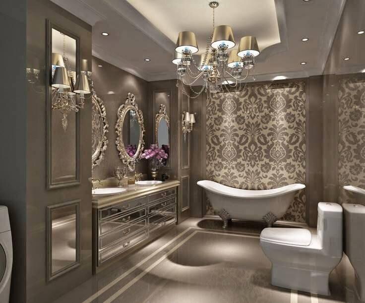 2019 luks ve gosterisli banyo dekorasyon modelleri