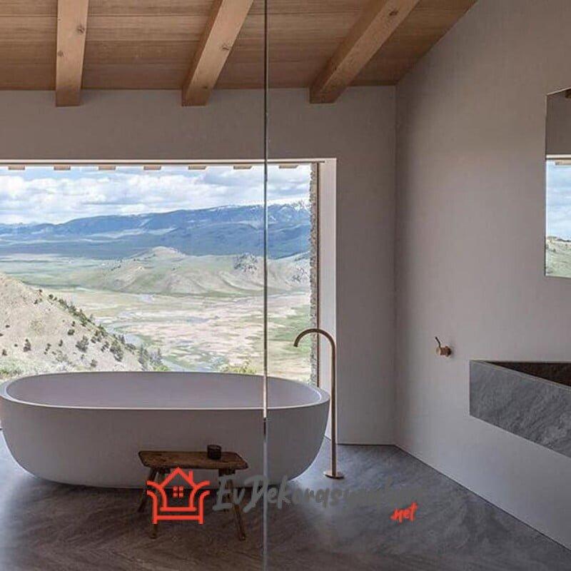 2019 modern banyo kuvet modelleri