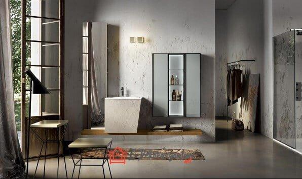 Modern Banyolar İçin 2019 İtalyan Banyo Dolapları