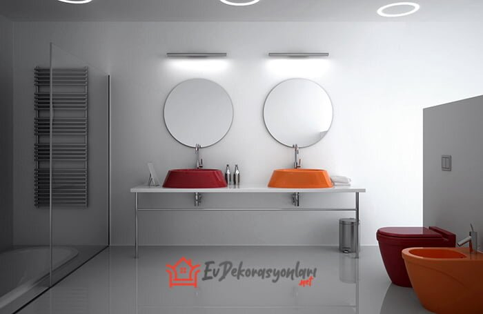2019 renkli bocchi banyo koleksiyonu