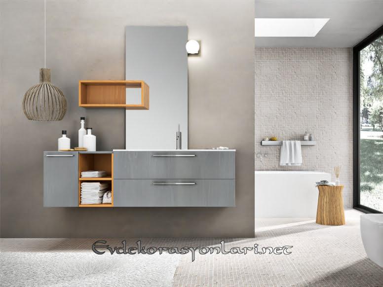 2019 Yeni Trend Modern Banyo Dolap Modelleri