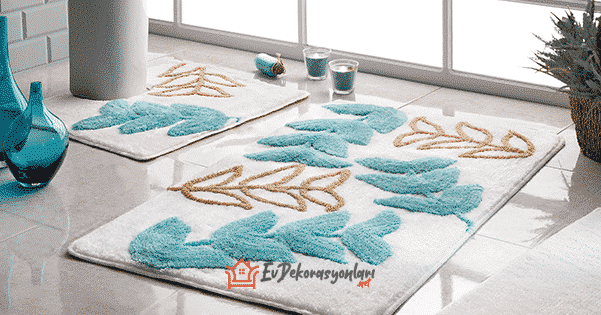 2019 Yeni Sezon Taç Banyo Paspas Modelleri