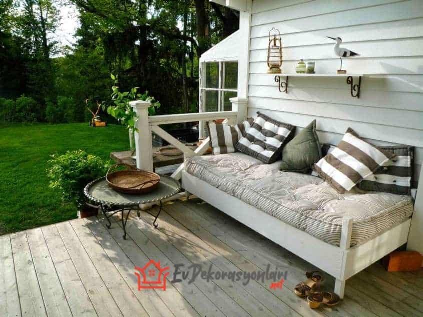 2019 veranda dekorasyon fikirleri