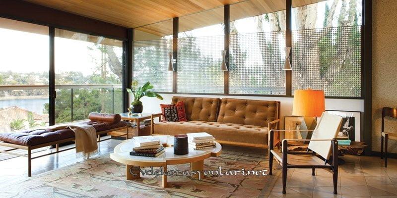 2019 vintage salon dekorasyon modelleri