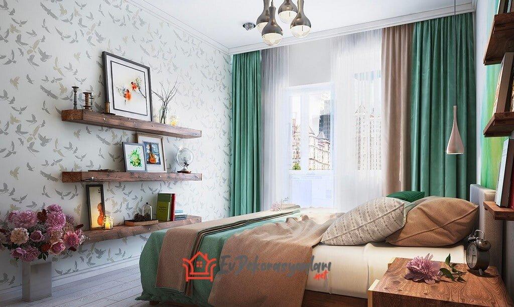 2019 yatak odasi dekorasyon fikirleri