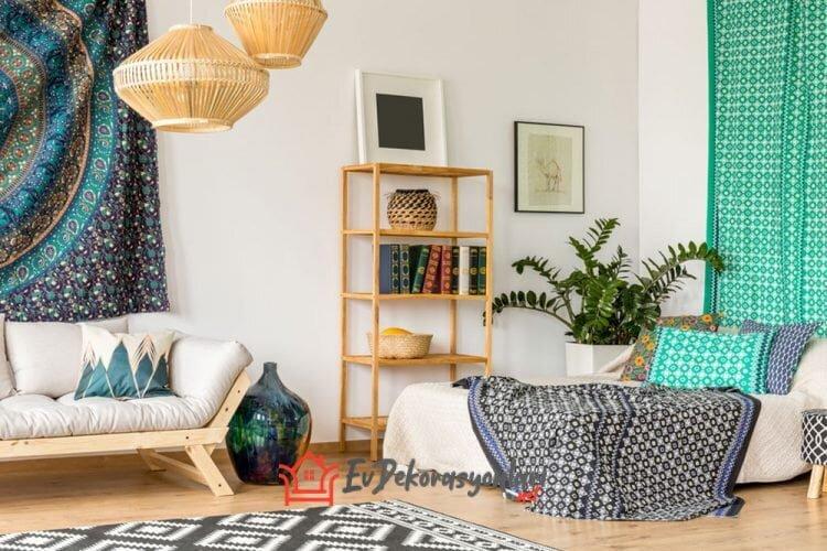 2019 yatak odasi dekorasyon ornegi