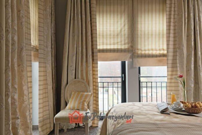 2019 yatak odasi perde modelleri