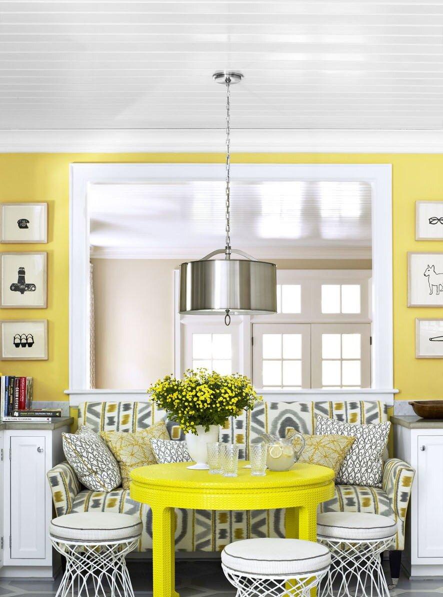 2021 Yılı En Trend Renkli Yemek Odası Dekorasyon Önerileri