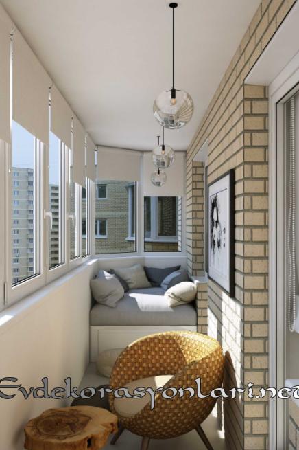 Balkon Duvarı Dekorasyonu Nasıl Yapılır?