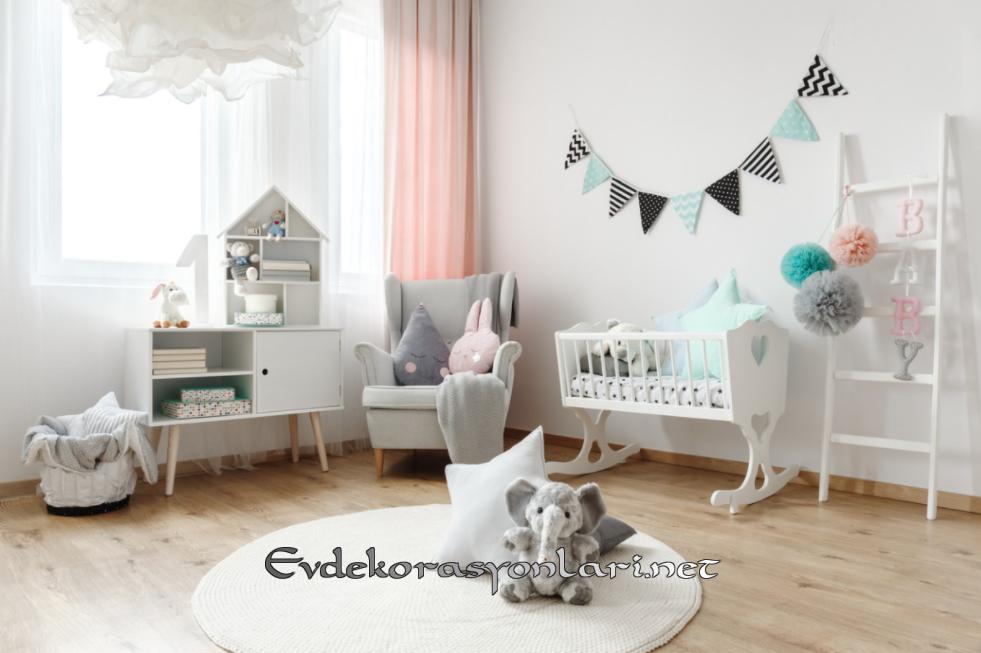 Erkek Bebek Odası Dekorasyonları