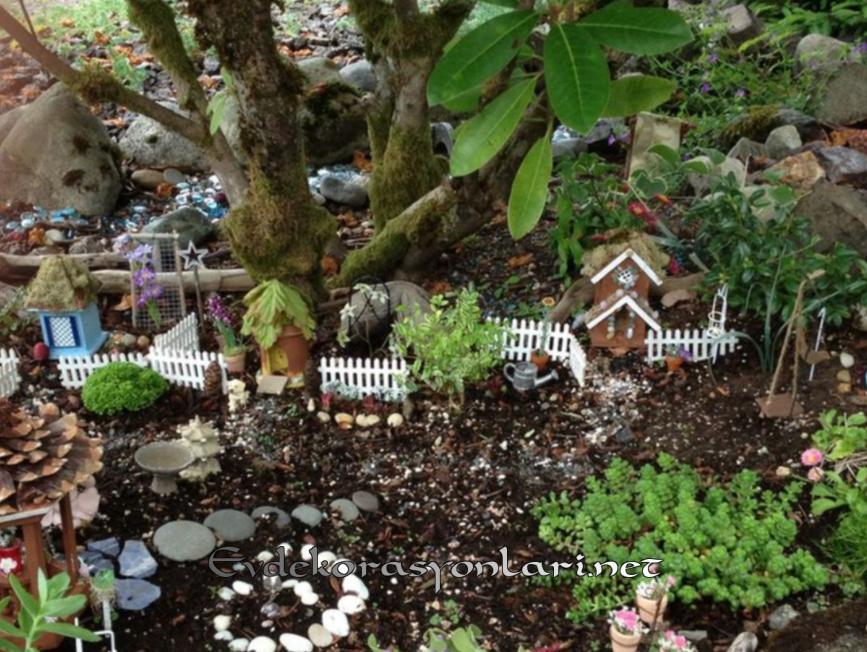 Farklı Bahçe Dekorasyonu