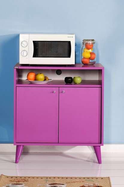 adore renkli dekoratif cok amacli dolap modeli