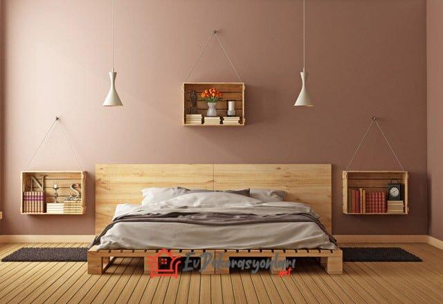 ahsap paletlerden yatak odasi mobilyalari 2019