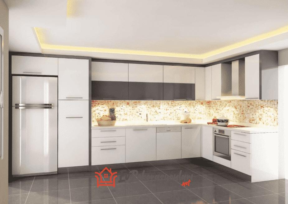 Akrilik Mutfak Örnekleri ve Dekorasyonu Nasıl Olur?