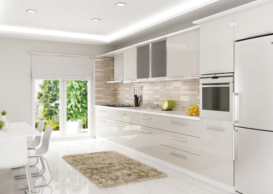 En Güzel Akrilik Mutfak Dolap Renkleri Nelerdir?