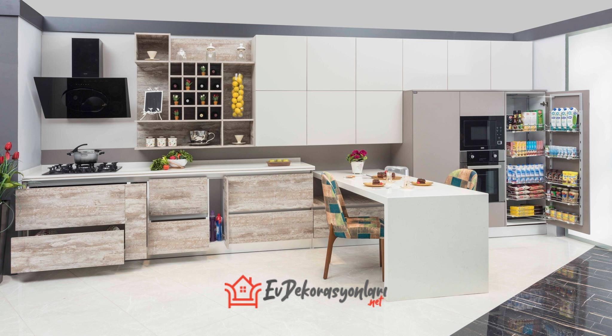 Amerikan Mutfak Tezgahı Modelleri
