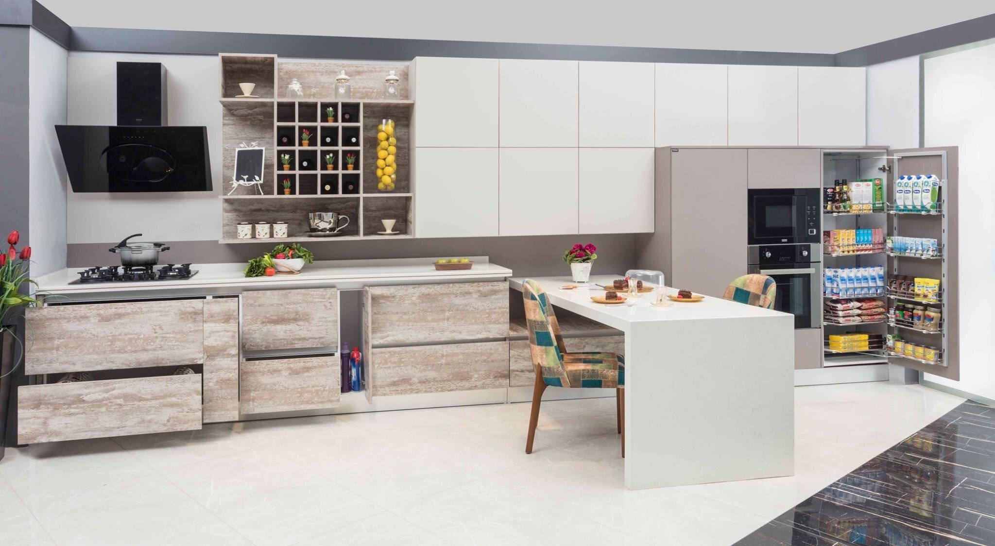 Amerikan Mutfak Modelleri ve Aksesuarları