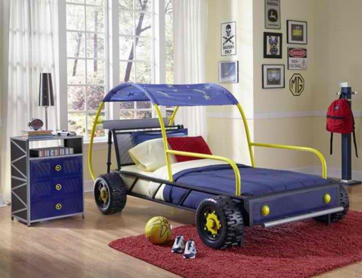 arabali erkek cocuk odasi dekorasyon modeli 2019