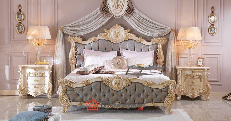 ari mobilya erciyez luks klasik yatak odasi takim modeli 2019