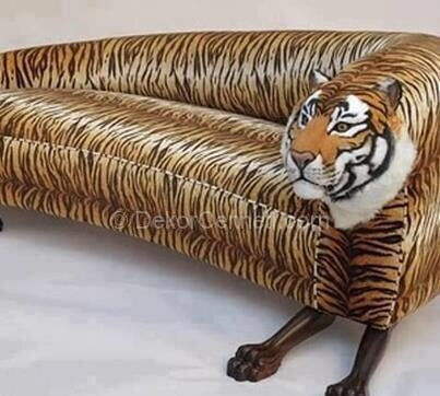 aslan figürlü koltuklar