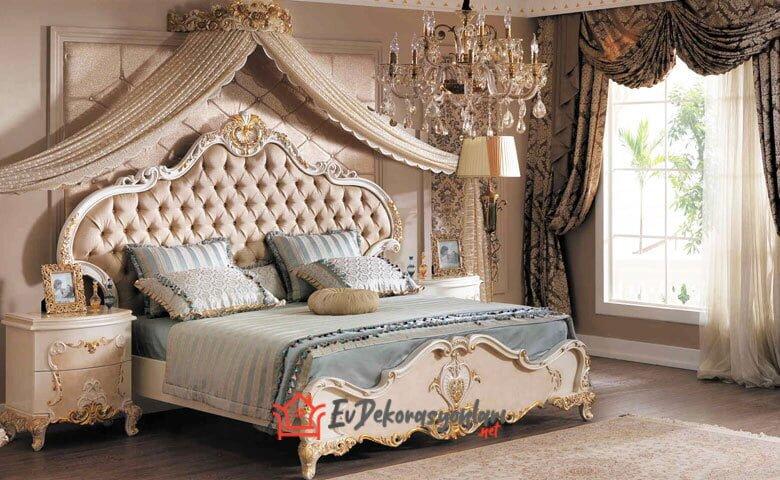 asortie casandra luks klasik yatak odasi takimi modeli 2019
