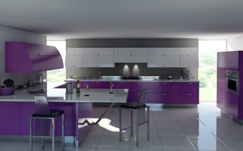 büyük mutfak dekorasyonu