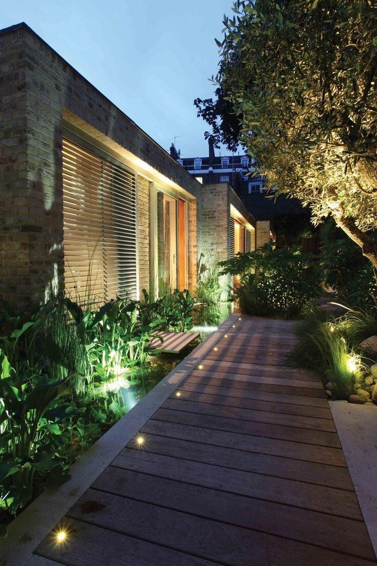 Bahçe Aydınlatması İçin Dekorasyon Fikirleri