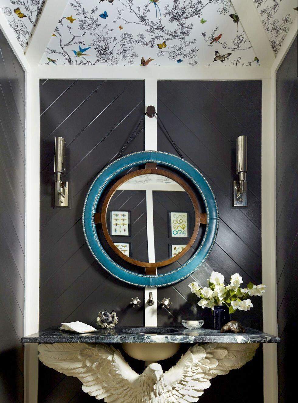 Tasarım Harikası 20 Banyo Ayna ve Dolap Modelleri