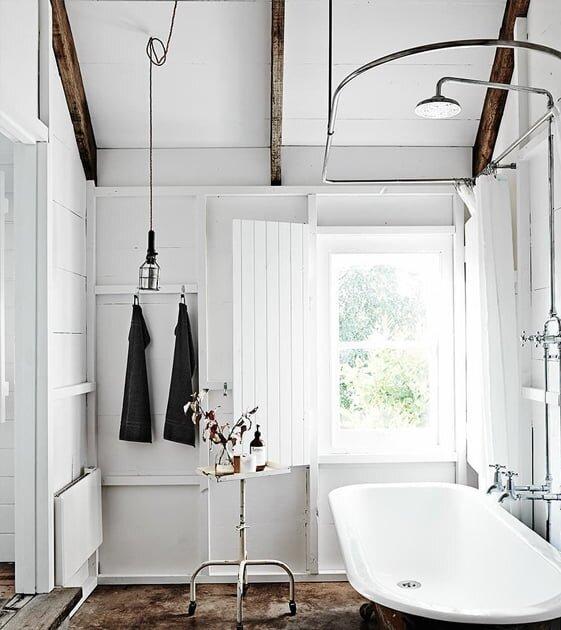 Sadeliğine Hayran Kalacağınız 15 Küvet Banyo Tasarımı