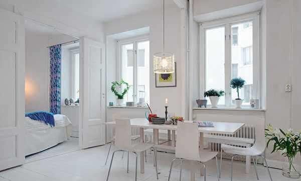 basit-beyaz-yemek-odasi-takimlari