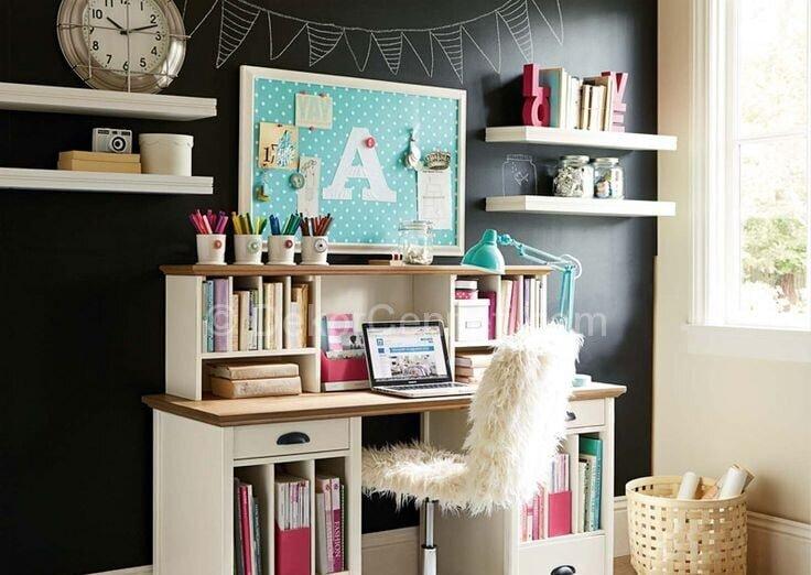bayanlar için home ofis dekorasyon örnekleri