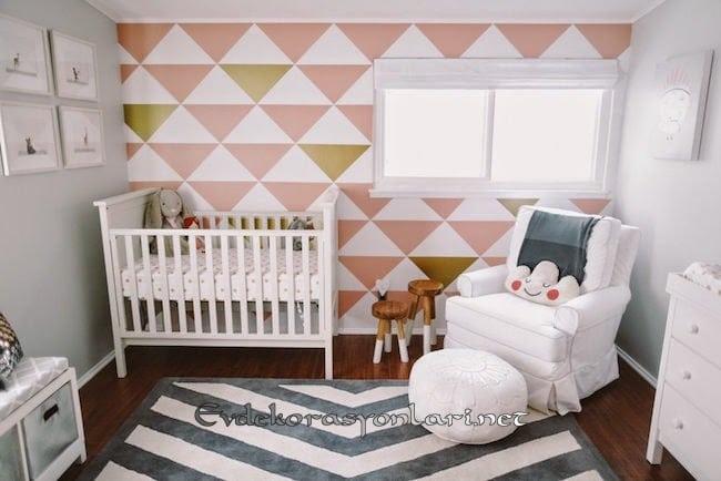 bebek odasi dekorasyon ornegi